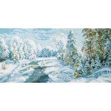 М-366 Зимний иней. Чарівна Мить. Наборы для вышивания крестиком.