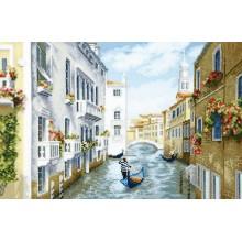 М-384 Полдень в Венеции. Чарівна Мить. Наборы для вышивания крестиком.