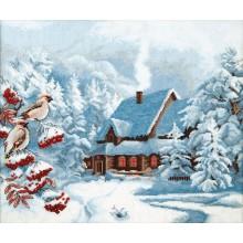 М-385 Морозный вечер. Чарівна Мить. Наборы для вышивания крестиком.