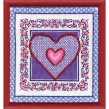 СТ-25 Сердце-2. Чарівна Мить. Наборы для вышивания крестиком.
