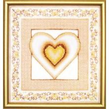 СТ-22 Сердце-1. Чарівна Мить. Наборы для вышивания крестиком.