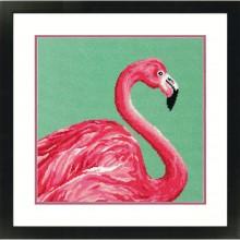 71-20086 Розовый фламинго. Dimensions. Наборы для гобеленовой вышивки.