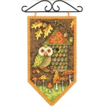 72-74135 Мини-баннер Осень. Dimensions. Наборы для вышивания крестиком.