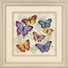 35145 Обилие бабочек. Dimensions. Наборы для вышивания крестиком.