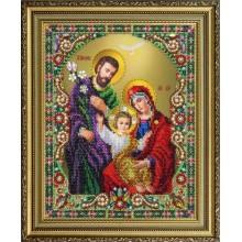 """P-402 Икона """"Святое семейство"""". Картины бисером. Наборы для вышивания бисером."""