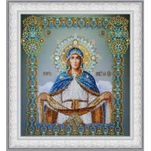 """P-403 Икона """"Покров Пресвятой Богородицы"""". Картины бисером. Наборы для вышивания бисером."""