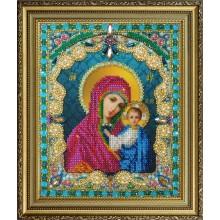 P-409 Казанская Икона Божией Матери. Картины бисером. Наборы для вышивания бисером.