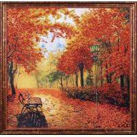 Б-010 Осенний парк. Магия канвы. Наборы для вышивания бисером.