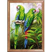 КС-094 Пара попугаев. Магия канвы. Схемы для вышивания бисером.