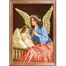 КС-099 Ангел-хранитель. Магия канвы. Схемы для вышивания бисером.