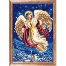 КС-106 Ангел над городом. Магия канвы. Схемы для вышивания бисером.