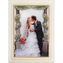 R-002 Поцелуй невесты. Olanta. Наборы для вышивания крестиком.
