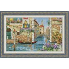 VN-115 Венецианские каналы. Olanta. Наборы для вышивания крестиком.
