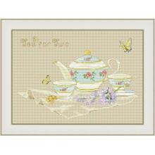 VN-122 Чай на двоих. Olanta. Наборы для вышивания крестиком.