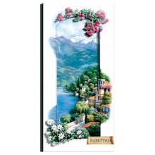 РТ150168 Итальянские пейзажи.Сардиния. TelaArtis. Наборы для создания объемной картины из бумаги.