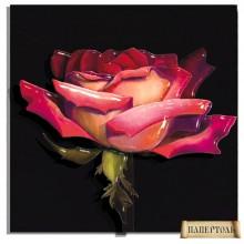 РТ150005 Роза на рассвете. TelaArtis. Наборы для создания объемной картины из бумаги.