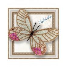 BGP-038 3D Бабочка Цитериас пиропина. Vdohnovenie. Наборы для вышивания бисером.