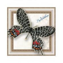 BGP-042 3D Бабочка Слава Бутана. Vdohnovenie. Наборы для вышивания бисером.