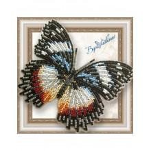 BGP-044 3D Бабочка Гиполимнас декситея. Vdohnovenie. Наборы для вышивания бисером.