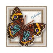BGP-046 3D Бабочка Прецис Лавиния. Vdohnovenie. Наборы для вышивания бисером.