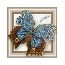 BGP-048 3D Бабочка Salamis temorai. Vdohnovenie. Наборы для вышивания бисером.