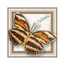 BGP-050 3D Бабочка Dryadula Phaetusa. Vdohnovenie. Наборы для вышивания бисером.