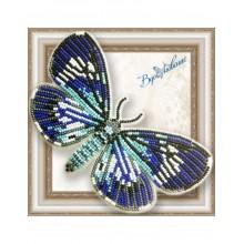 BGP-056 3D Бабочка Hypocrita confluens. Vdohnovenie. Наборы для вышивания бисером.