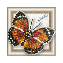 BGP-057 3D Бабочка Euphaedra Eleus. Vdohnovenie. Наборы для вышивания бисером.