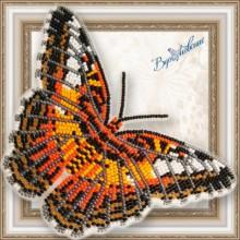BGP-065 3D Бабочка Партенос Сильвия. Vdohnovenie. Наборы для вышивания бисером.