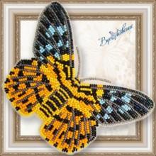 BGP-066 3D Бабочка Dysphania militaris. Vdohnovenie. Наборы для вышивания бисером.